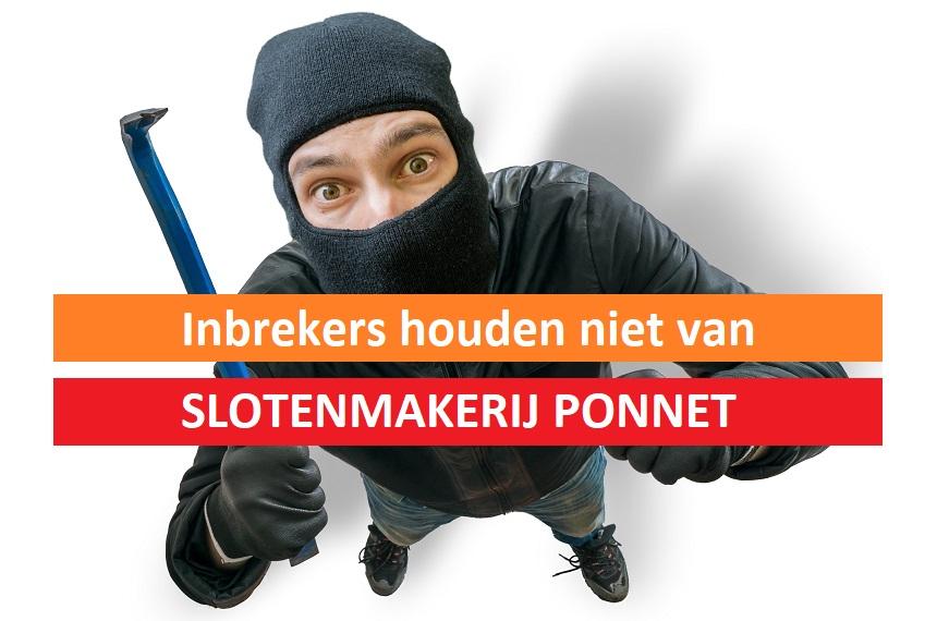 Slotenmaker PONNET - Inbraakbeveiliging