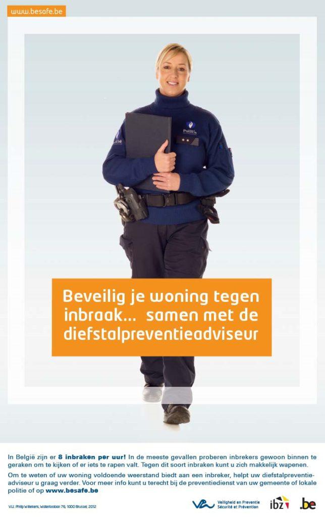 De preventieadviseur van de lokale politie